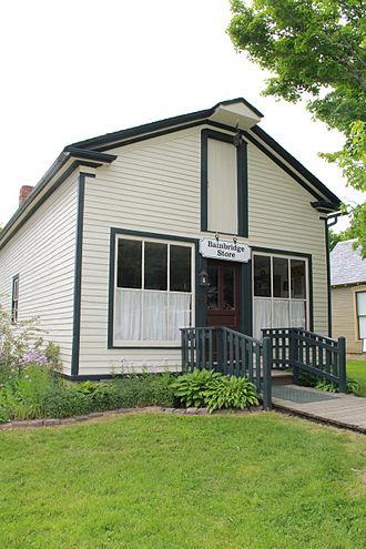 Bainbridge Township, Ohio - Bainbridge IGA store, formerly at corner of Rt. 306 and Chagrin Road