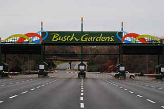 Busch Gardens Williamsburg European-themed amusement park in James City County, Virginia