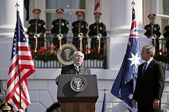 Operation Red Dawn - Australian Prime Minister John Howard urged the trial of Saddam.