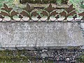 Bush End, Essex, England ~ St John Evangelist exterior ~ graveyard east tomb.jpg