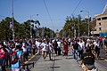Busy St. Kilda Road on Moomba festival day (6999179789).jpg