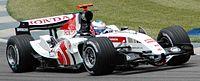 Button (BAR) qualifying at USGP 2005.jpg
