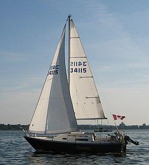 C&C 24 - Image: C&C 24 sailboat Fennel
