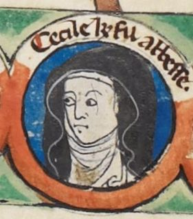 11th and 12th-century daughter of William the Conqueror and abbess