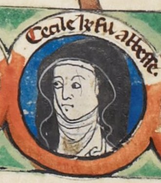 Cecilia of Normandy - Cecilia depicted on the family tree with her sisters