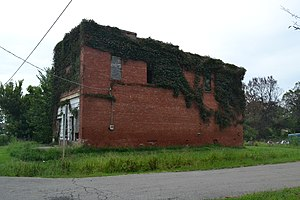 National Register of Historic Places listings in McIntosh County, Oklahoma - Image: C. L. Cooper Building, Eufaula, OK