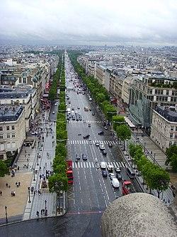 Champs lys es wikip dia - H m avenue des champs elysees ...