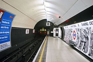 David Gentleman - Mural by David Gentleman at Charing Cross tube station