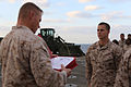 CLB-11 Marines awarded for actions during deployment with USS Comstock 141130-M-RR352-020.jpg