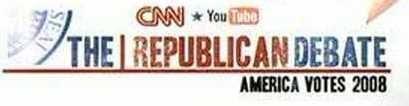 CNN Republican Debate, 2008 (1)