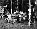 COLLECTIE TROPENMUSEUM Een bar in een paviljoen op de Tentoonstelling te Batavia van 1893 TMnr 60012315.jpg