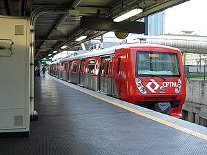 Rail transport in Brazil - Regional rail system in São Paulo.