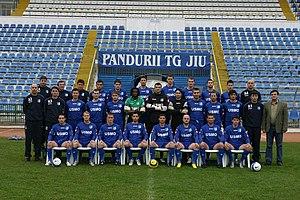 CS Pandurii Târgu Jiu - Squad of Pandurii Târgu Jiu in November 2006
