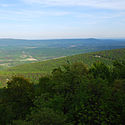 Thumbnail image of view from Cacapon Mountain overlook