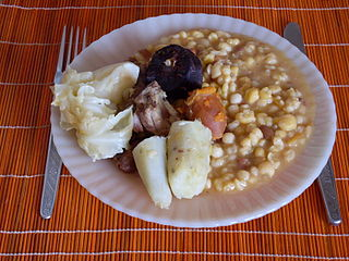 Cachupa traditional dish from Cape Verde, considered the national dish