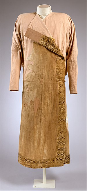 Saltovo-Mayaki - Northwest Caucasus caftan, 8-10th century, from the region of Alania.
