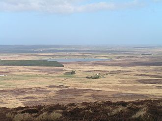 Caithness - Caithness landscape, looking towards Halkirk from Beinn Freiceadain