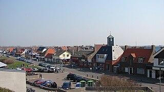 Callantsoog Town in North Holland, Netherlands