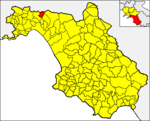 Locatio Calvanici in provincia Salernitana