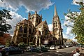 Cambridge - Hills Road - View WNW on Church of Our Lady & the English Martyrs 1890 Dunn and Hansom.jpg