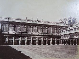 Nevile's Court, Trinity College, Cambridge - Cambridge University, Nevile's Court, Trinity College