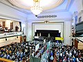 Camden Centre (Camden Town Hall) interior during beer festival.jpg