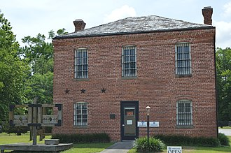 National Register of Historic Places listings in Camden County, North Carolina - Image: Camden County Jail and museum