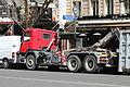 Camion Benne sur le boulevard du Montparnasse à Paris le 30 juillet 2015 - 4.jpg