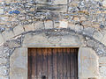 Can Vila (Santa Pau), portal.JPG