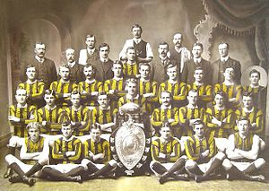 Cananore Football Club - Cananore Football Club's 1909 premiership team.