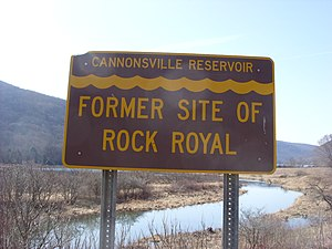 Cannonsville Reservoir - The entrance to the Cannonsville Reservoir