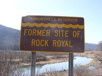Cannonsville Reservoir - Image: Cannonsville Reservoir sign