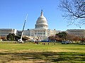 Capitol Christmas Tree nearly in place on West Front. (8221458632).jpg