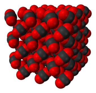 Crystal structure of dry ice Carbon-dioxide-crystal-3D-vdW.png