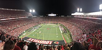 Cardinal Stadium - Image: Cardinal Stadium UL7
