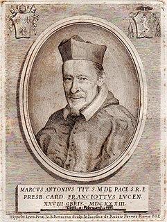 Marco Antonio Franciotti Italian cardinal