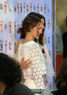 Caren Pistorius and Rachel Weisz at the premiere of Denial, at TIFF, 2016 (29170895094).jpg
