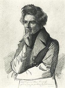 Ernst Raupach, Porträt von Carl Christian Vogel von Vogelstein (1840) (Quelle: Wikimedia)