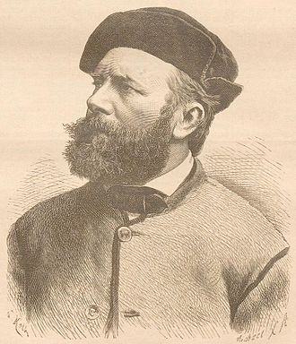 Albert Wolff (sculptor) - Albert Wolff, from the Darmstädter Tagblatt (Nr. 22/1886)