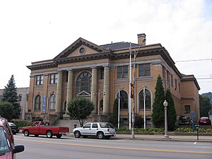 Beaver Falls, Pennsylvania - Carnegie Library