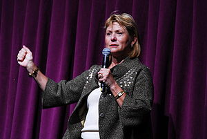 Carol Bartz - Bartz at her first Yahoo! all hands meeting (2009)