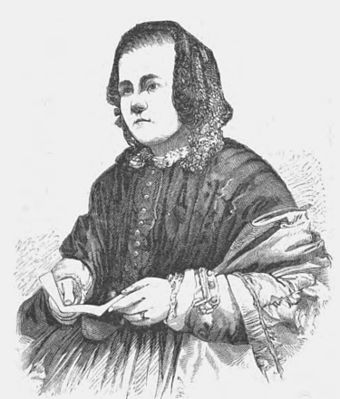 The humanitarian Caroline Chisholm was a leading advocate for women's issues and family friendly colonial policy. Caroline Chisholm.jpg