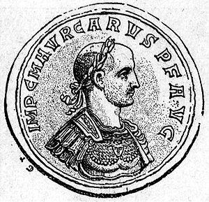 Carus - Aureus of Emperor Carus