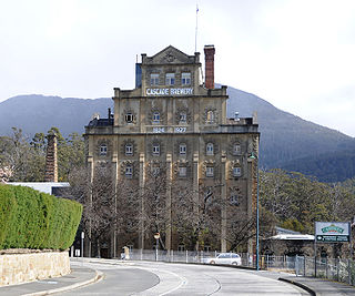 Cascade Brewery the oldest continually operating brewery in Australia
