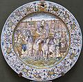 Castelli, francesco grue, piatto con trionfo, 1645 ca.JPG