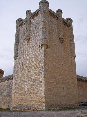 Castle of Torrelobatón - Keep of the castle.