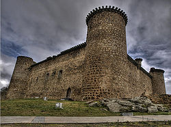 Castle of El Barco de Ávila, built in the 12th century.