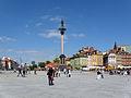 Castle Square in Warsaw - Plac Zamkowy w Warszawie - Kolumna Zygmunta.JPG