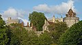 Castle View from Alexandra Park - Round Tower, St George's Chapel and the Curfew Tower. Windsor, UK.jpg