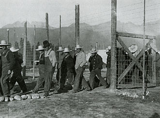 Banff National Park - Castle Mountain internment camp, 1915